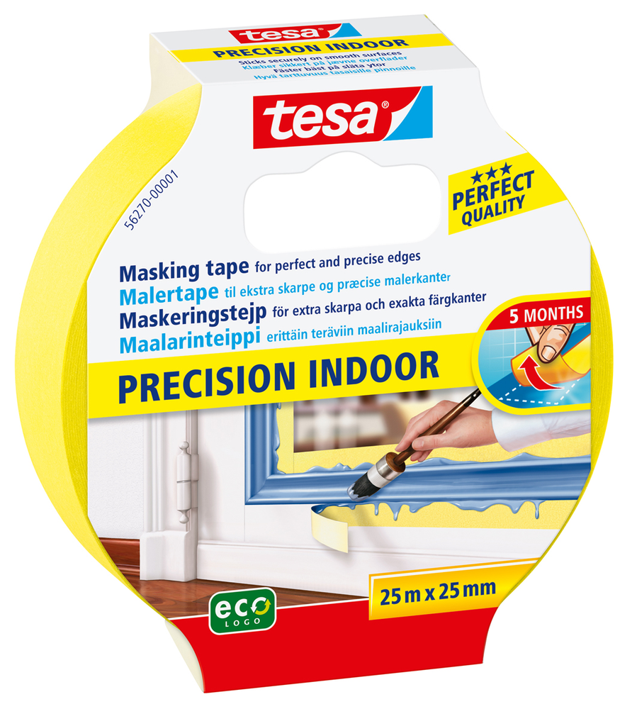 TESA AFDÆKNINGSTAPE INDOOR 25 PRECISION 25MX25MM