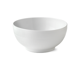 ROYAL COPENHAGEN HVID RIFLET SALATSKÅL 310CL NO. 1017399