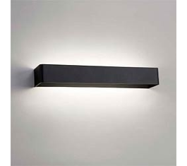 MOOD 3 LED VÆGLAMPE SORT 11W 50X10X7CM 261072