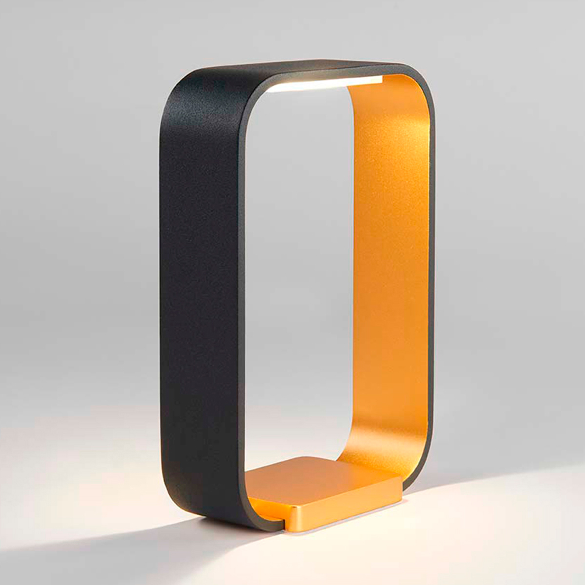 CODE TOUCH BORDLAMPE SORT/GULD