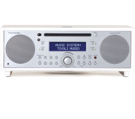 MUSIKSYSTEM PLUS BLUETOOTH DAB FM CD AFSPILLER PIANO HVID