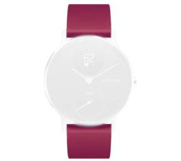 WITHINGS/NOKIA REM 36MM RASPBERRY SILIKONE